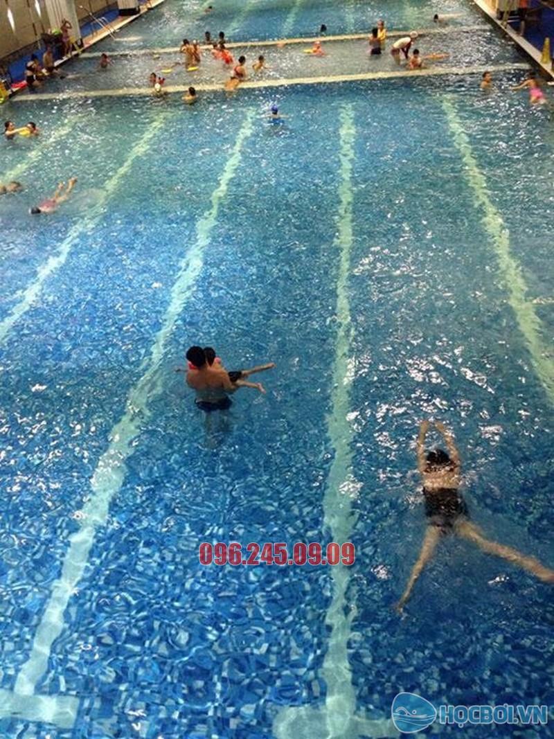 Lớp học bơi cơ bản bể Hapulico 2018 có chi phí cực rẻ