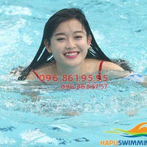 Tham gia ngay khóa học bơi bể Hapulico, cam kết biết bơi sau 7 buổi