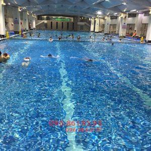 Học bơi bể Hapulico 2018: học phí 2,5tr, cam kết bơi tốt sau 7 ngày