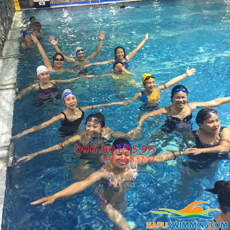 Hapulico điểm thực hành bơi lý tưởng cho học viên tham gia học bơi ếch nhanh và nhẹ