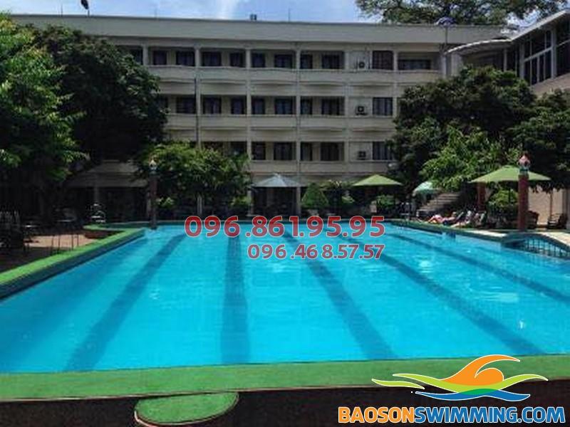 Dạy bơi chuyên nghiệp tại bể bơi Phạm Ngũ Lão