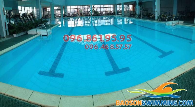 Bể bơi Sense Aqua, số 20 Thụy Khuê, Tây Hồ, Hà Nội