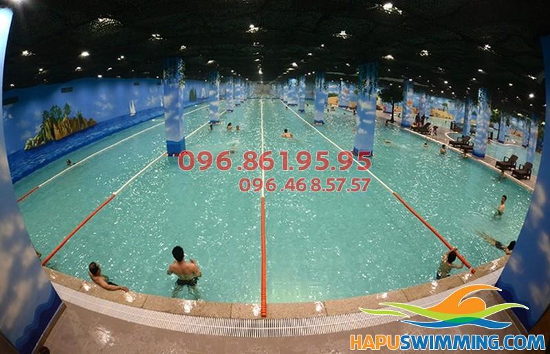 Học bơi chuyên nghiệp tại bể bơi Time City