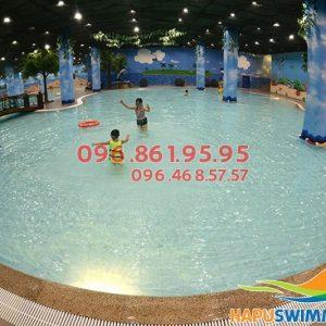 Bể bơi Times City - địa điểm bơi lội lý tưởng cho bé