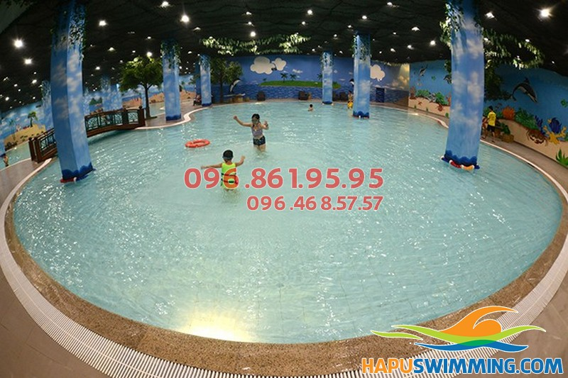 Tổng hợp giá vé bể bơi trong nhà cho bé tại Hà Nội 2018