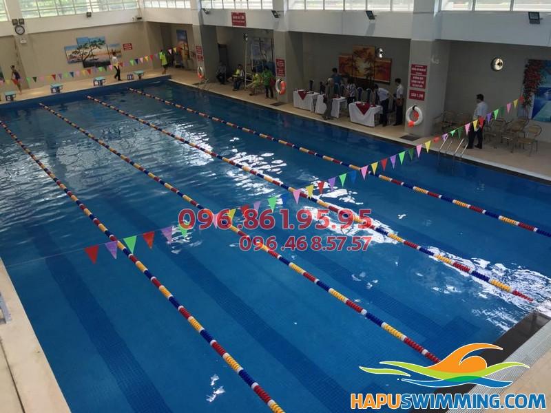 Bể bơi nước nóng Nghĩa Tân