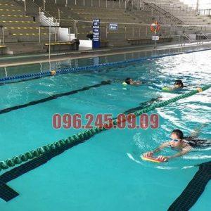 Học viên Hà Nội Swimming tham gia khóa học tại bể Mỹ Đình