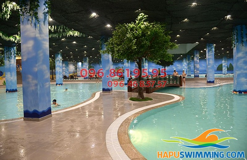 Bể bơi Times City - Bể bơi sang trọng bậc nhất Hà Nội