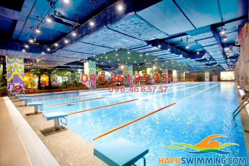 Giá vé bể bơi Thanh Xuân - Update giá vé tháng bể bơi Royal City 2018
