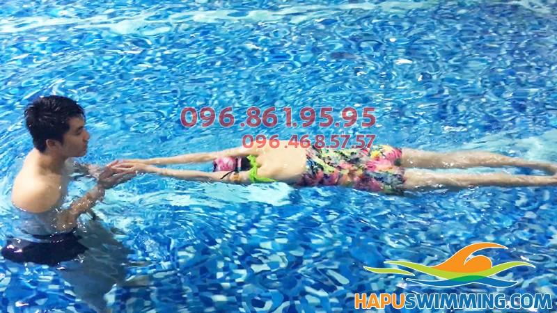 Trung tâm dạy bơi chuyên nghiệp Hapu Swimming nhận dạy học bơi cấp tốc, cam kết chất lượng