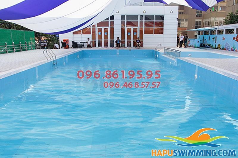Các lớp dạy học bơi cho trẻ em ở bể bơi Nemo 289A Khuất Duy Tiến