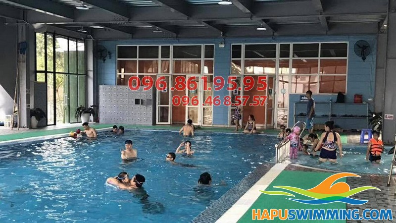 Bể bơi nước mặn Nemo - địa chỉ học bơi tuyệt vời ở Thanh Xuân