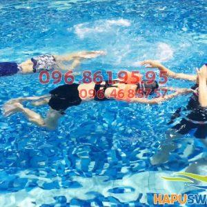 Học bơi ở Hapulico, học viên được hỗ trợ mua vé vào bể giá ưu đãi