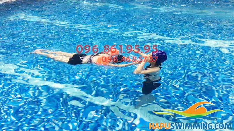Hapu Swimming trung tâm dạy bơi chuyên nghiệp ở bể bơi Hapulico hè 2018