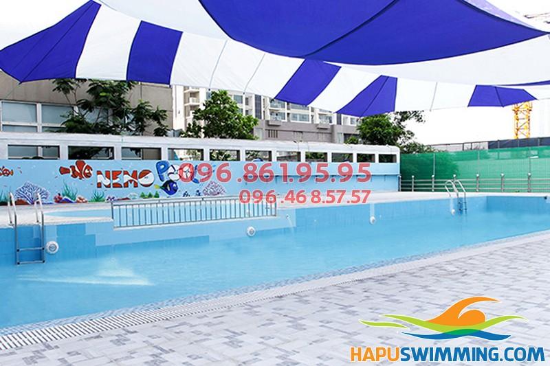 Học bơi ở Hà Nội hè 2018 tại bể bơi Nemo 289A Khuất Duy Tiến