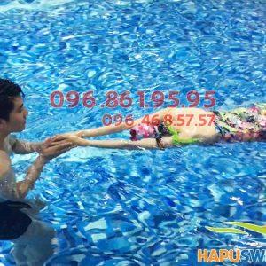 Hướng dẫn đăng ký học bơi cho người lớn ở bể Hapulico hè 2018