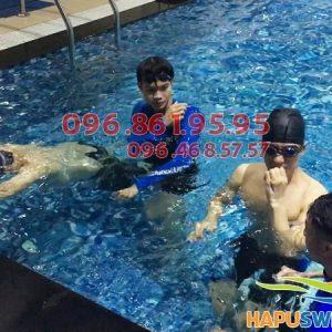 Dạy học bơi bể Hapulico chuyên nghiệp hè 2018, cam kết bơi thành thạo