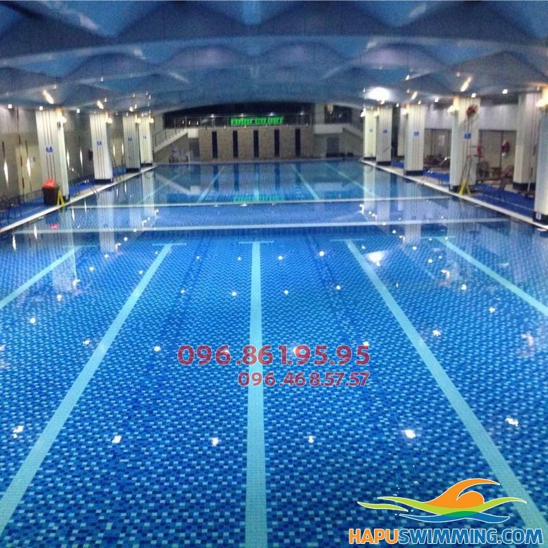 Bể bơi Hapulico - địa chỉ học bơi người lớn hấp dẫn nhất Hà Nội