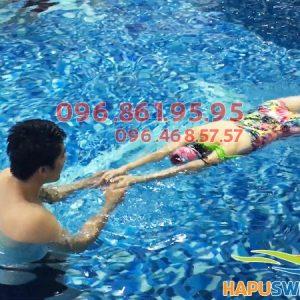 Học bơi ở Hapulico, cam kết 100% học viên biết bơi sau khóa học