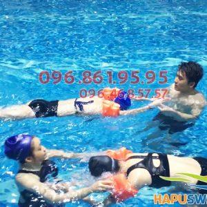 Người lớn, người cao tuổi được học bơi kèm riêng chất lượng tại Hapulico