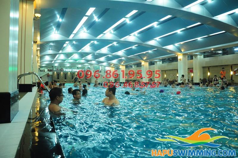 Bể bơi Hapulico - địa chỉ học bơi tuyệt vời nhất cho bé tại Hà Nội