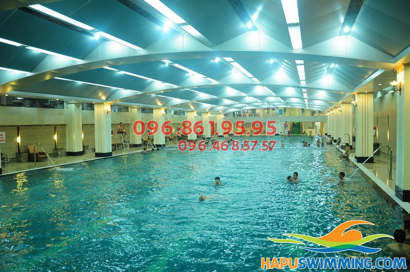 Bể nước nóng Hapulico - địa chỉ học bơi mùa đông tuyệt vời cho mọi học viên