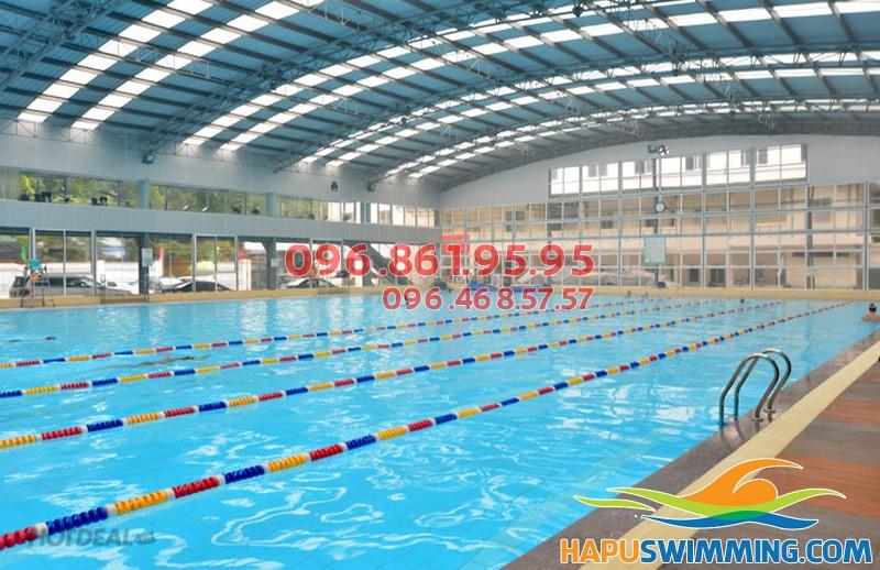 Bể bơi số 3 Tăng Bạt Hổ, thoáng, rộng sạch sẽ