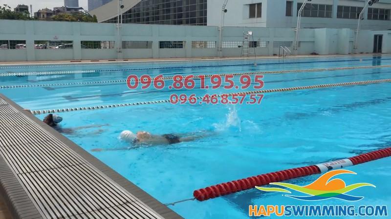 Bể bơi chuẩn quốc tế Mỹ Đình- Địa chỉ học bơi tốt nhất cho trẻ em Hà Nội