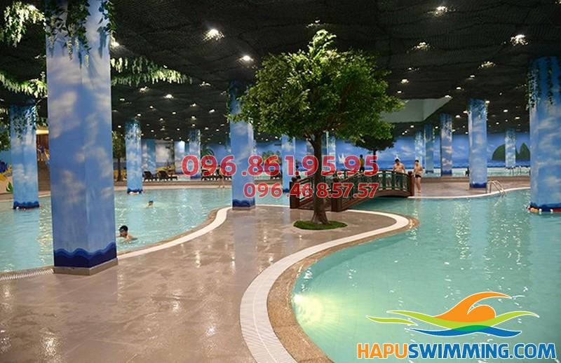 Bể bơi bốn mùa Times City- sang trọng, sạch sẽ