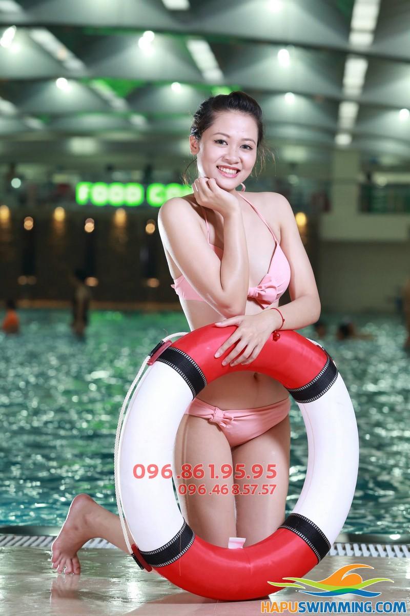Bể bơi Hapulico - Bể bơi đẹp nhất Hà nội, check in siêu hot