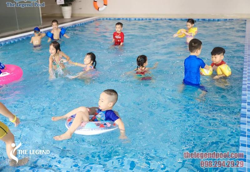 Địa chỉ học bơi tốt nhất quận Thanh Xuân 2020 - The Legend Pool