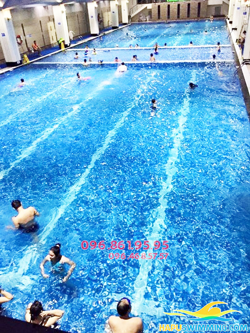 Bể bơi nước mặn Hapulico có kích thước cực rộng lớn