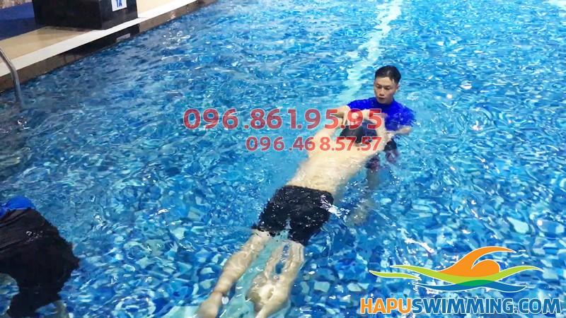 Học bơi ếch chất lượng tại Hapulico 2019