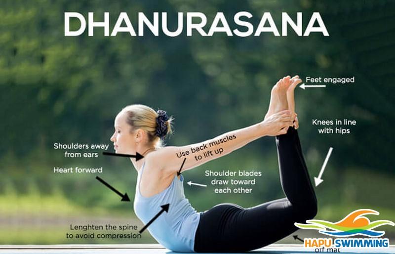 Ngăn ngừa chấn thương khi bơi bằng 4 tư thế yoga này!