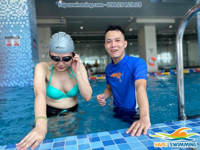 Học bơi người lớn an toàn, chất lượng với hình thức dạy kèm riêng