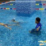 Review lớp học bơi cho trẻ em bể The Legend Pool 2021