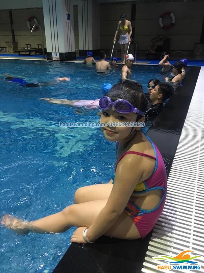 Đâu là trung tâm dạy bơi kèm riêng tốt nhất Hà Nội - Hapulico
