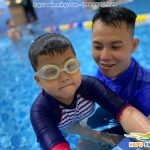 Học bơi bể bốn mùa The Legend Pool giá rẻ, hiệu quả 100%